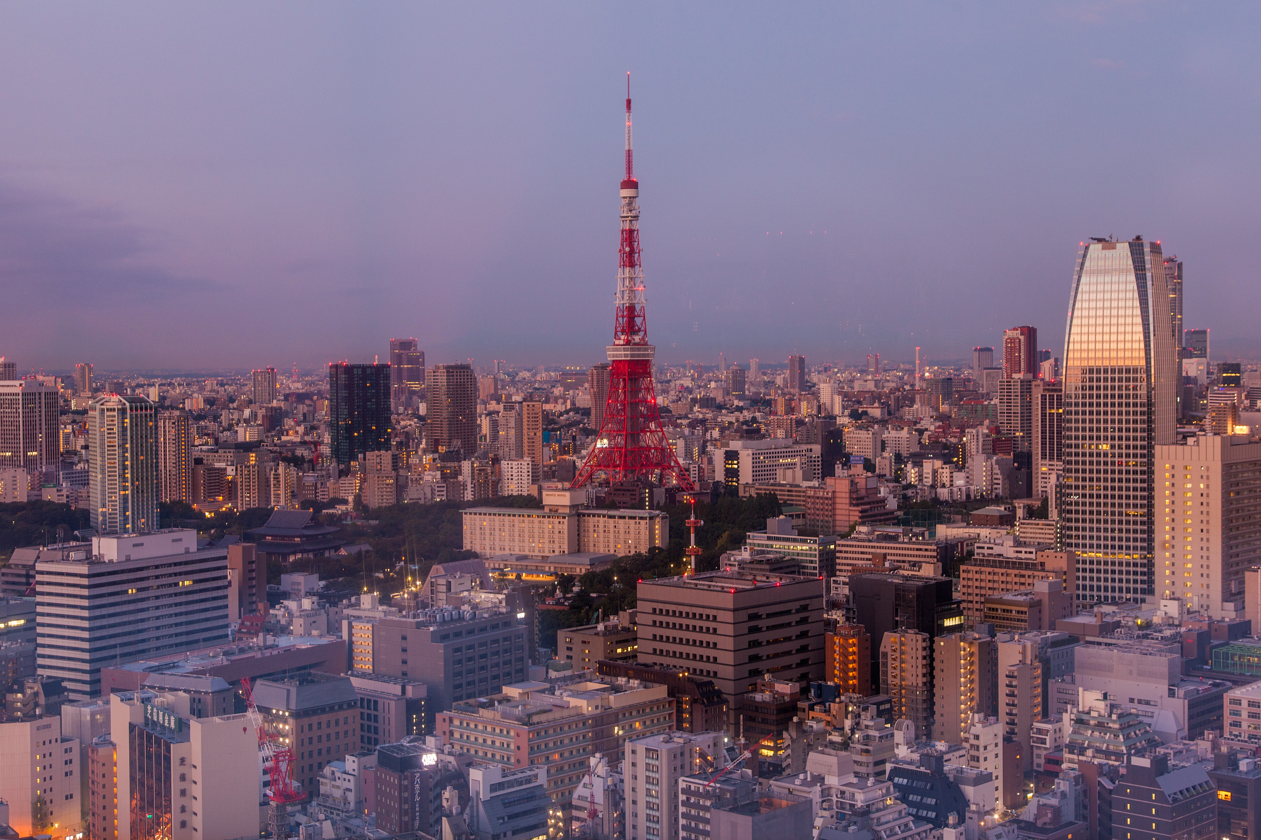 Sunsise Over Tokyo Tower