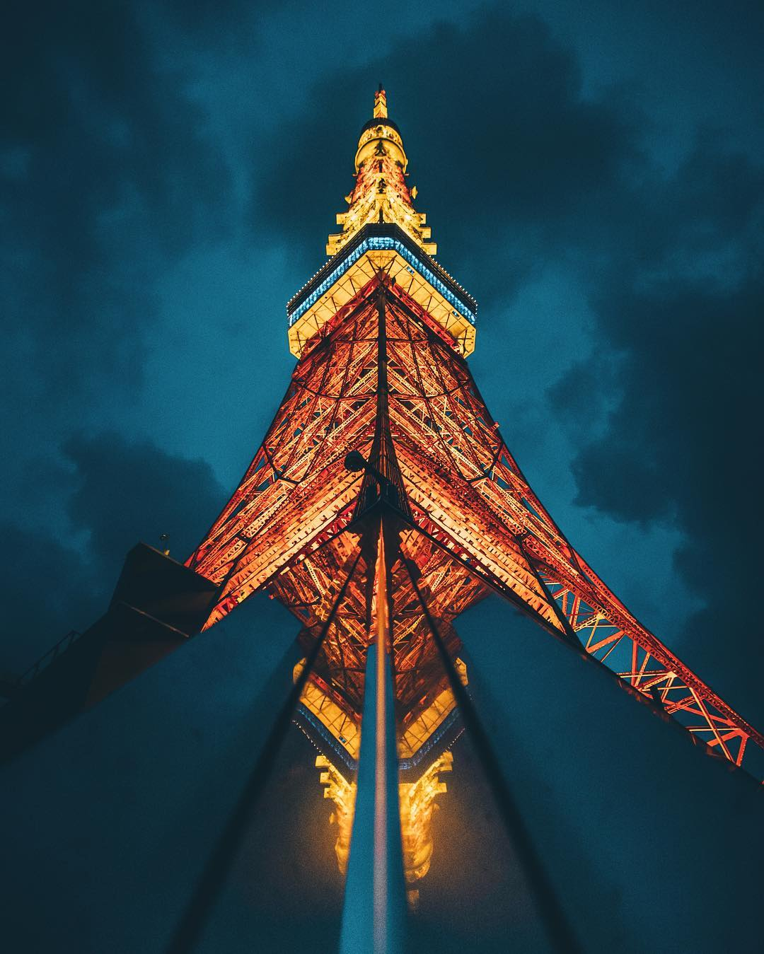 The most beautiful Tokyo Tower Japan